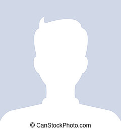 Avatar internet social profile. Vector