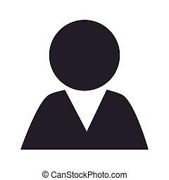 avatar man pictogram