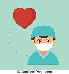 avatar medical nurse man