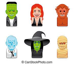 Avatar monster icons