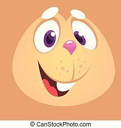 avatar., nyuszi nyúl, karikatúra