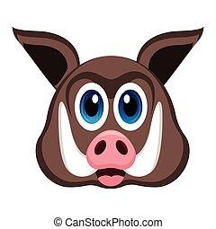 Avatar of a wild pig