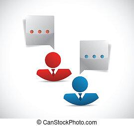 avatar people business communication