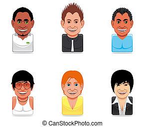 Avatar people icons