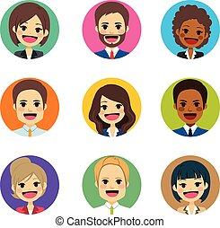 avatar, zakenlui