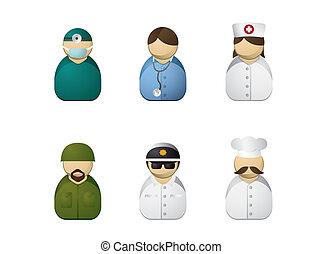 avatars, ocupação