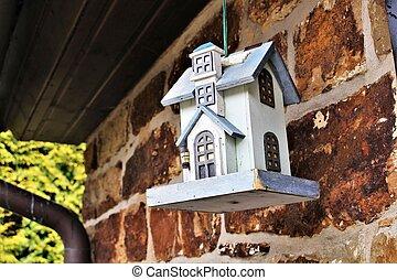 avbild, birdhouse
