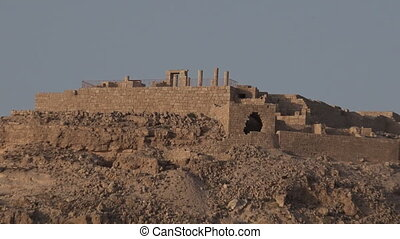 Avdat Nabataean city Israel - Avdat Nabataean city in the...