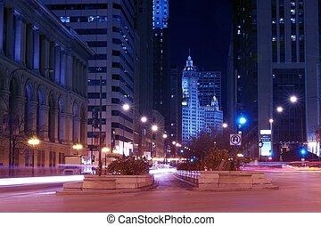 ave, ミシガン州, シカゴ