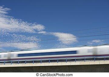 ave, 列車