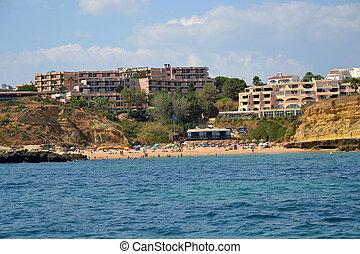 aveiros, spiaggia