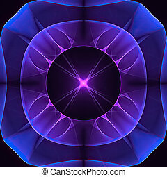 avenir, fond, fractal, couleur, flèches, résumé, effects.