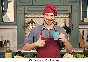 avental, grande, bebida, beverage., taste., smoothie, concept., cozinhar, quentes, cozinha, preparado, cozinheiro, saudável, assalte, bebida, desgaste, gostosa, recipe., profissional, ter, homem