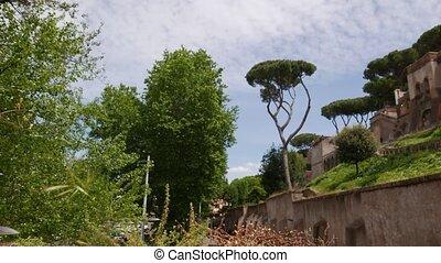 Aventine hill, Rome - The lovely terrace of Giardino degli...