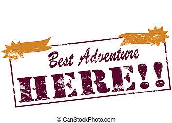 aventura, melhor
