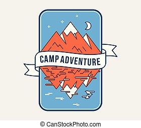 aventure extérieure, camp