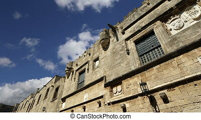Avenue of the Knights, Rhodes - Medieval Avenue of the...
