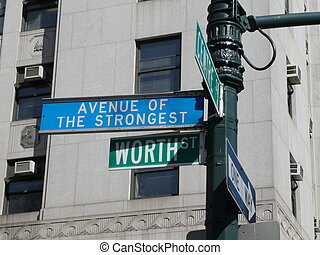 avenue of the strongest