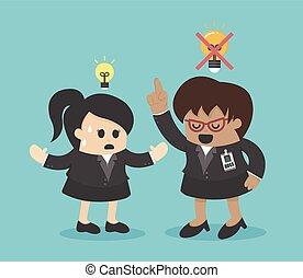 aversion, idées, patron