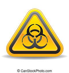 avertissement biohazard, icône