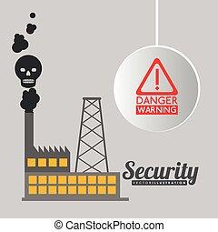 avertissement, conception, danger