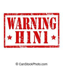 avertissement, h1, n1-stamp