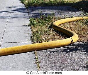 avfyra vattnar med slang
