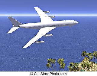avião, jato