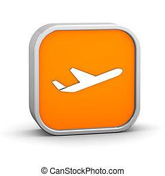 avião, sinal