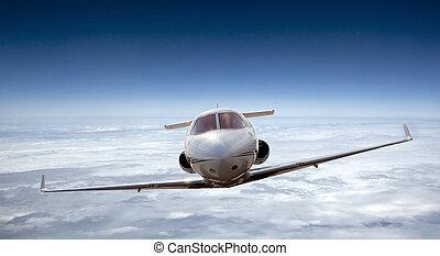 avião, voando