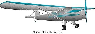 avión ligero