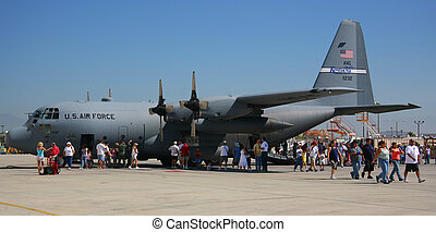 avión militar, c-17