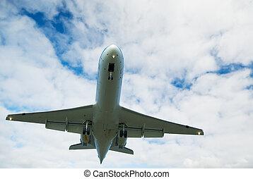 avión pasajero