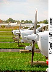 avión pequeño, accesorios