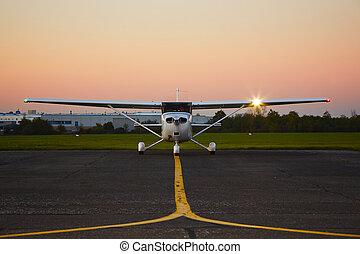 avión, privado