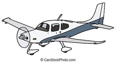 avión propulsor