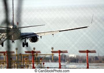 avión, telefotográfico
