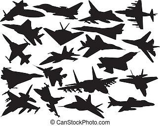 aviões, cobrança