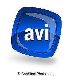 avi file internet icon