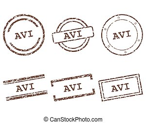 Avi stamps