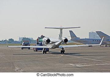 aviação, negócio