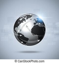 aviación,  global, Plano de fondo