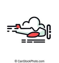 aviation adventure icon color