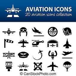 aviation icons