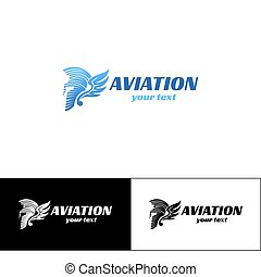 Aviation Logo Design Five