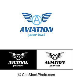Aviation Logo Design Four
