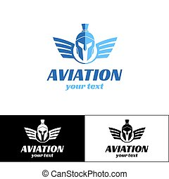 Aviation Logo Design Three
