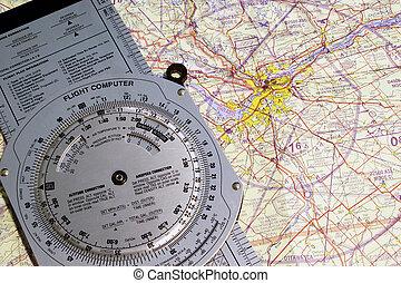 Aviation Ottawa - Aviation navigational chart of the Ottawa...