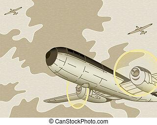 aviation, retro