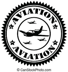 Aviation-stamp